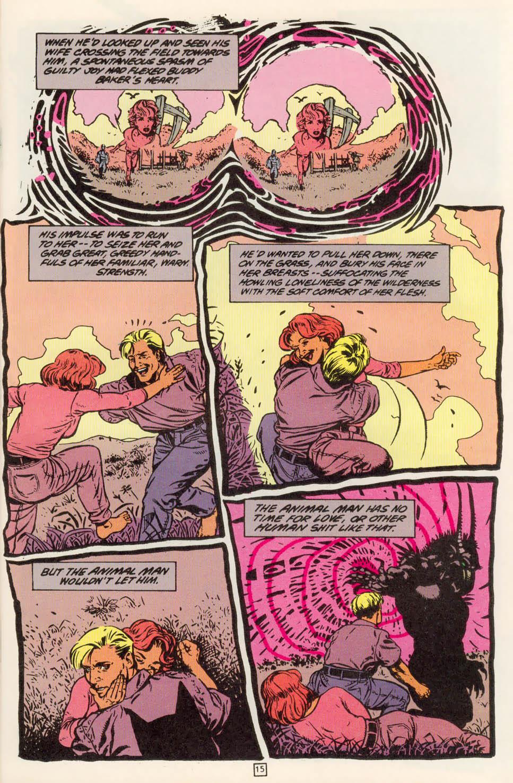 Read online Animal Man (1988) comic -  Issue #78 - 16