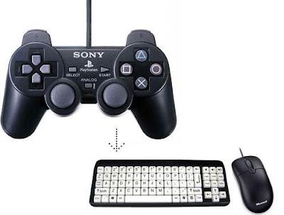 Cara remap keybord ke joystick controller