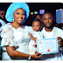 Ubi Franklin and Lilian Esoro dedicate their son (photos)