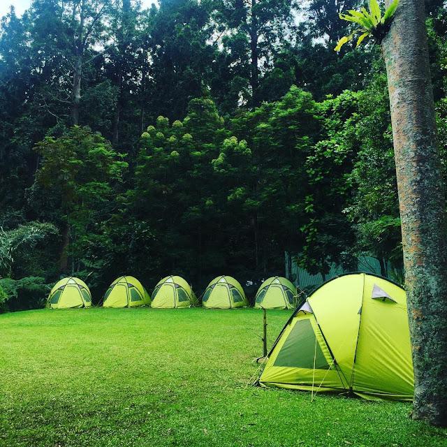 foto camping ground di situ gunung