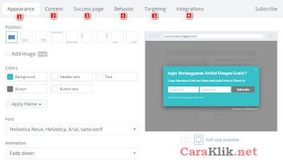 Membuat Widget Subscribe Keren Melayang di Blog