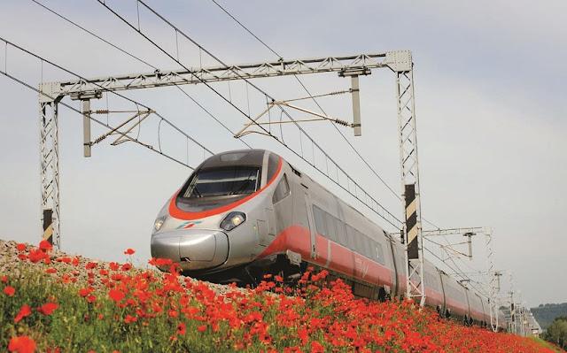 Viagem de trem de Veneza a Pisa