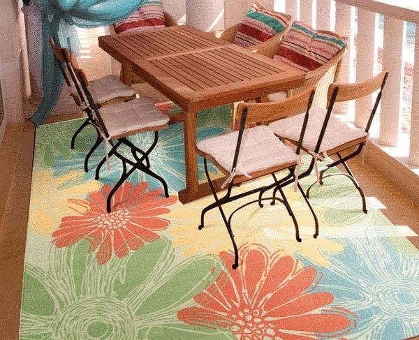 Berbagai Model Karpet Funky dan Berwarna