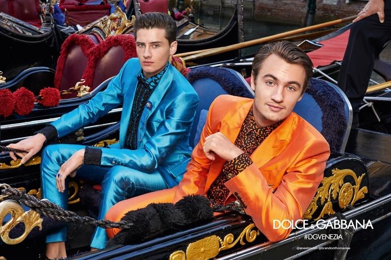 23768d642391f Reberth Fiorezzo  Dolce   Gabbana leva seus meninos para Veneza em ...