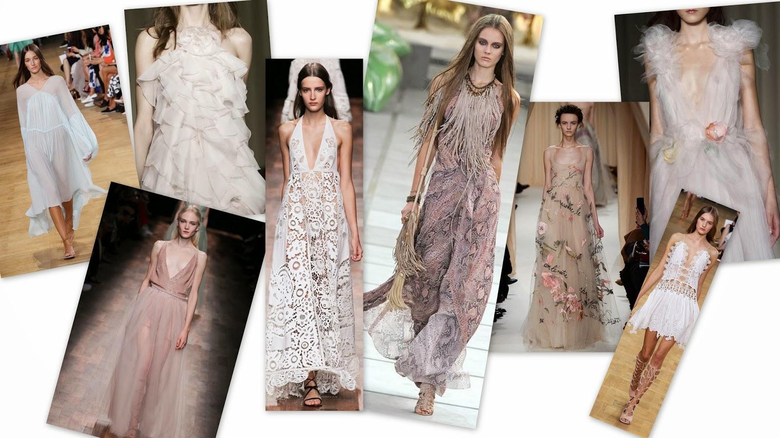 Spring Summer 2015 Fashion Trend Mood Board