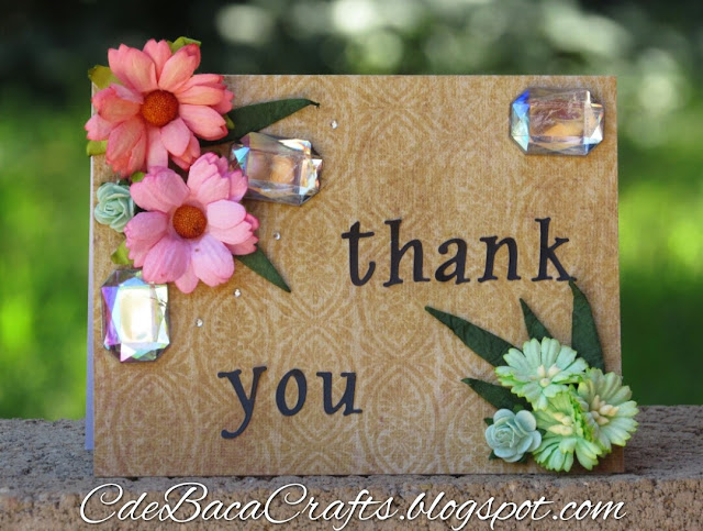 Thank You Card_CdeBacaCraftsCard