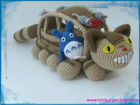 Blue totoro free crochet pattern amigurumi to go small blue amigurumi totoro he was designed for use with the catbus all patterns available free of charge update december 2014 pattern has been dt1010fo