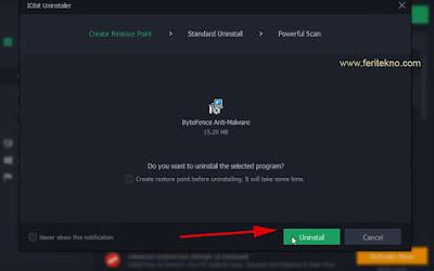 Salah mendownload suatu software orisinil alias bajakan Nih 2 Cara Uninstall Antivirus ByteFence Sampai Ke Akarnya