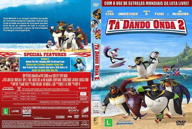 Capa DVD Tá Dando Onda 2