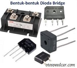 cara menentukan kaki dioda bridge