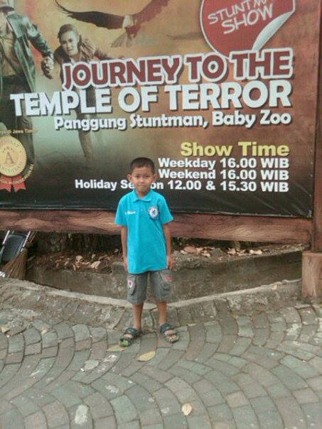temple of terror taman safari 2