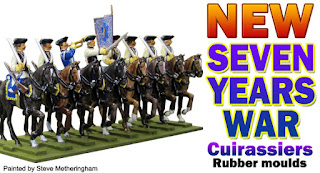 Seven Years War Austrian Cuirassiers moulds release July 2018
