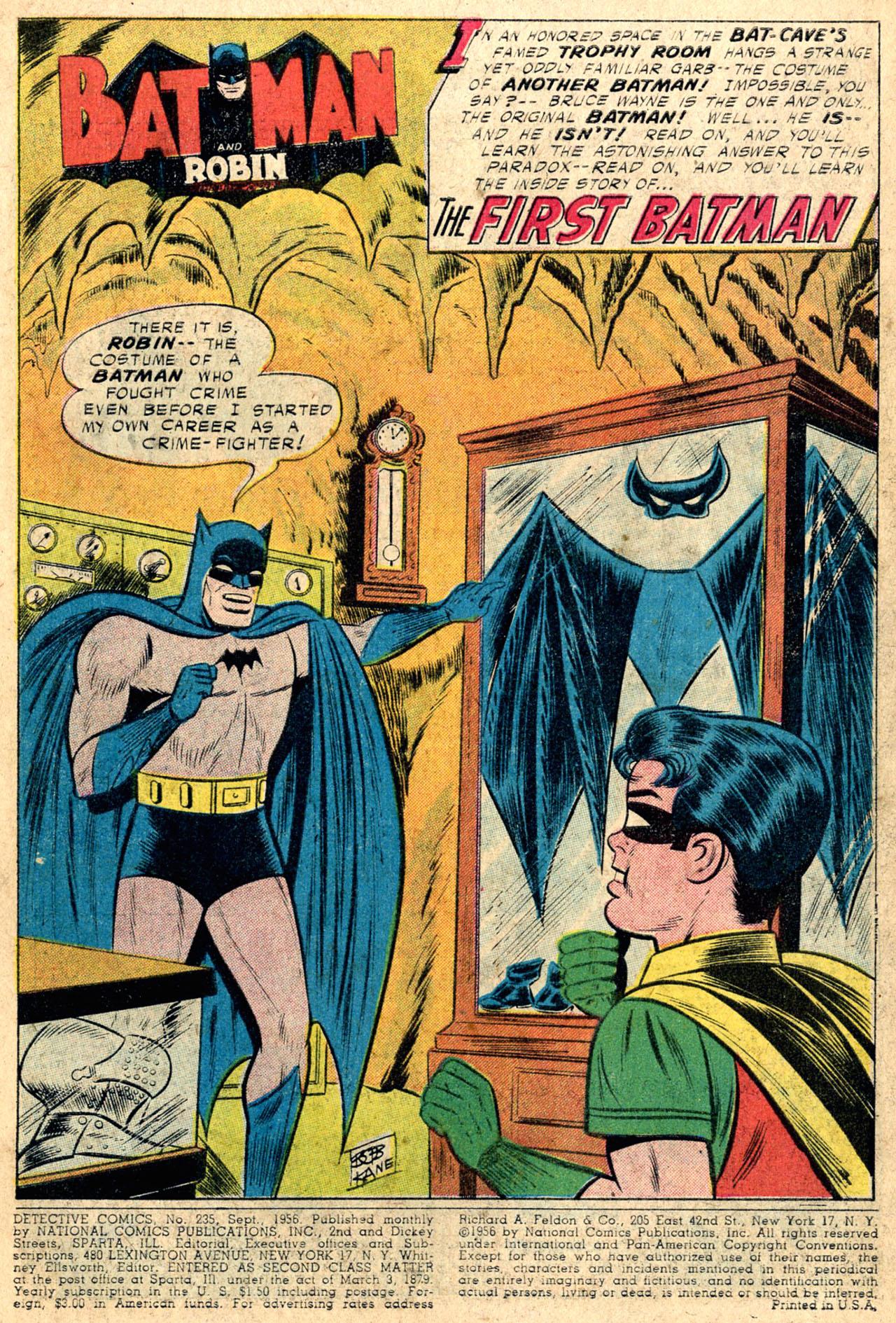 Read online Detective Comics (1937) comic -  Issue #235 - 3