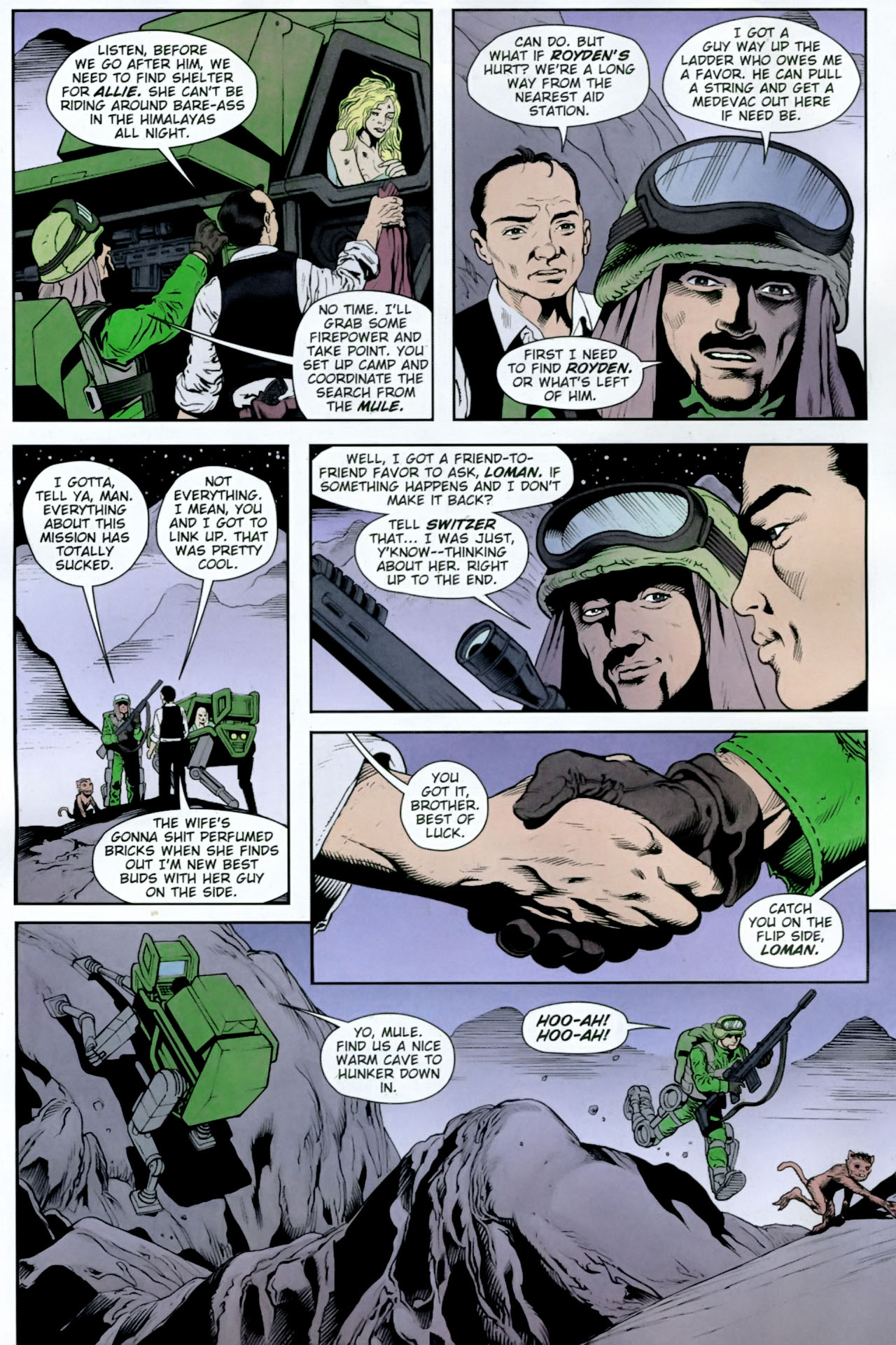 Read online Army @ Love comic -  Issue #12 - 9
