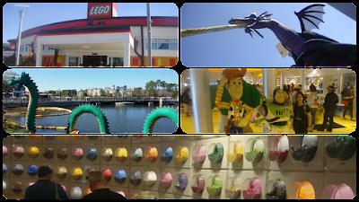 Loja da lego na Disney Springs