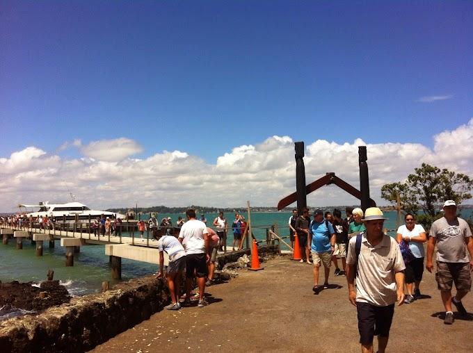 Island Attraction - Rangitoto Island @New Zealand