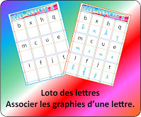 Identifier la lettre dans ses différentes graphies, cursif script majuscule minuscule