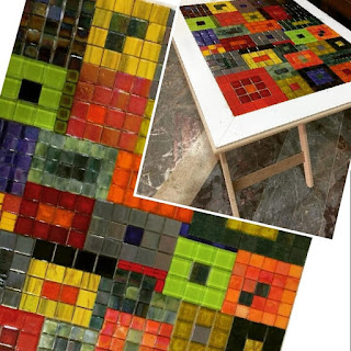 cam mozaik yeni renkler