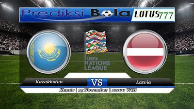 Prediksi pertandingan Kazakhstan VS Latvia 15 November 2018