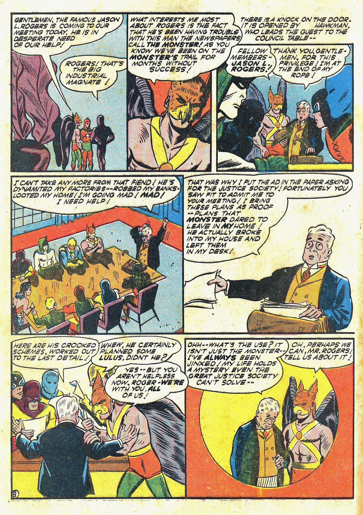 Read online All-Star Comics comic -  Issue #20 - 5