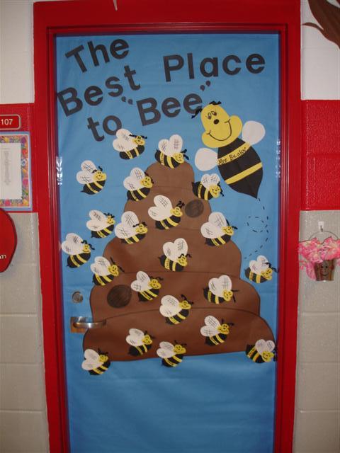 Bulletin board /door ideas on Pinterest | Bee Bulletin ...