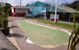 Arnold Palmer Crazy Golf course in Exmouth, Devon