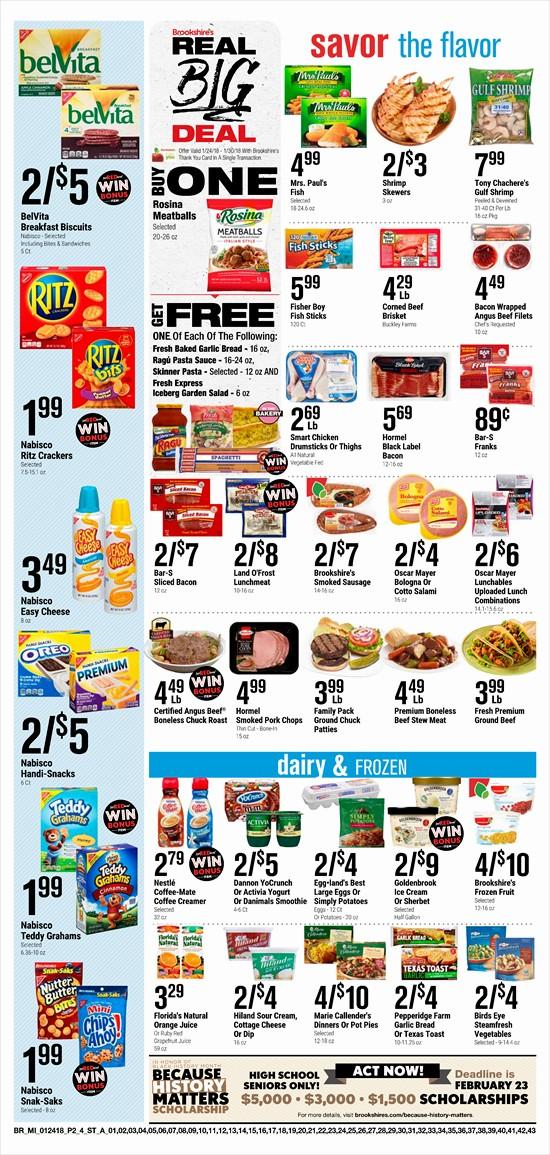 Brookshires Weekly Ad
