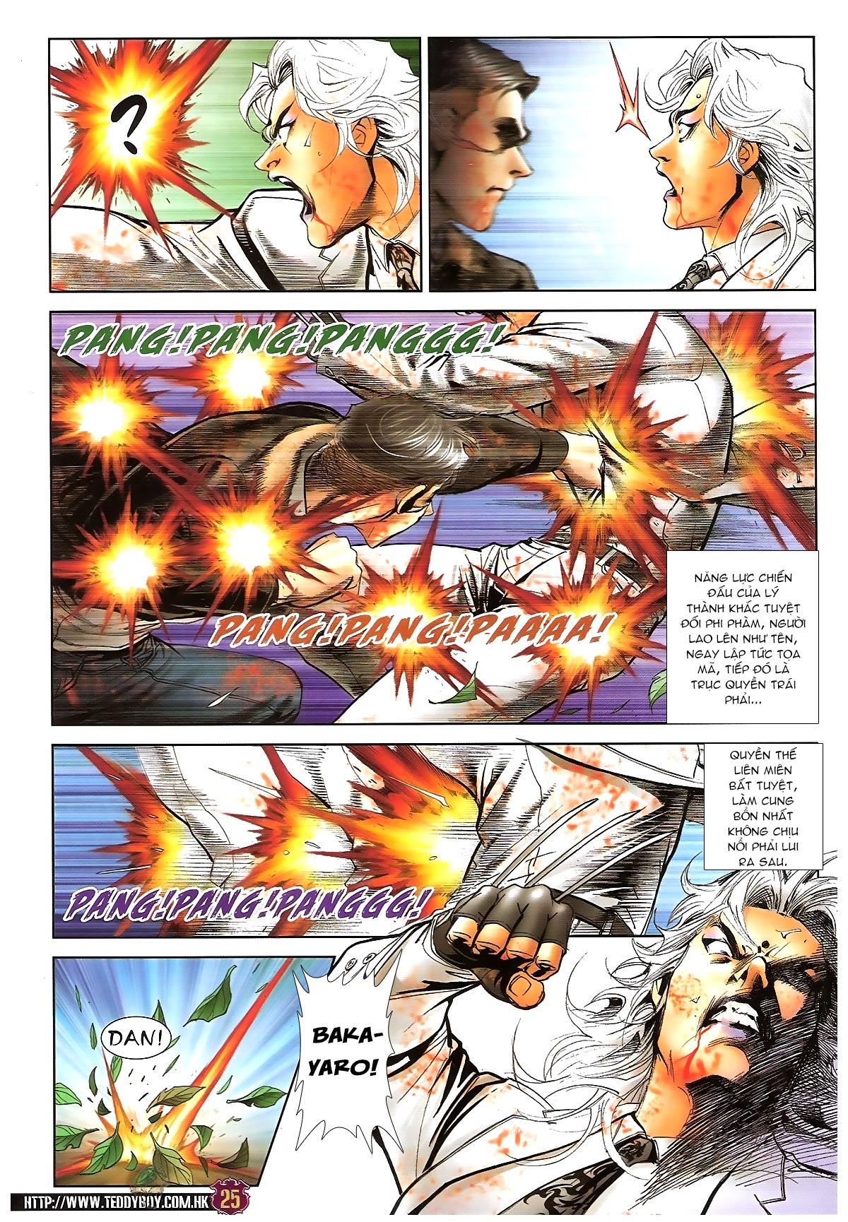 Người Trong Giang Hồ chapter 1677: sát thủ trang 22