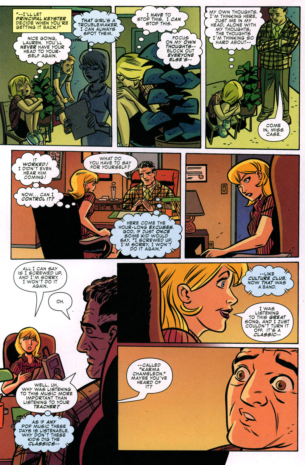 Read online Bad Girls comic -  Issue #3 - 12