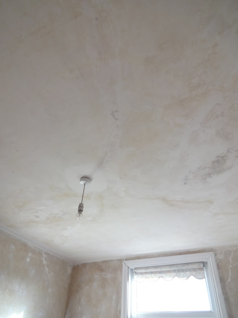 ceiling with no paint
