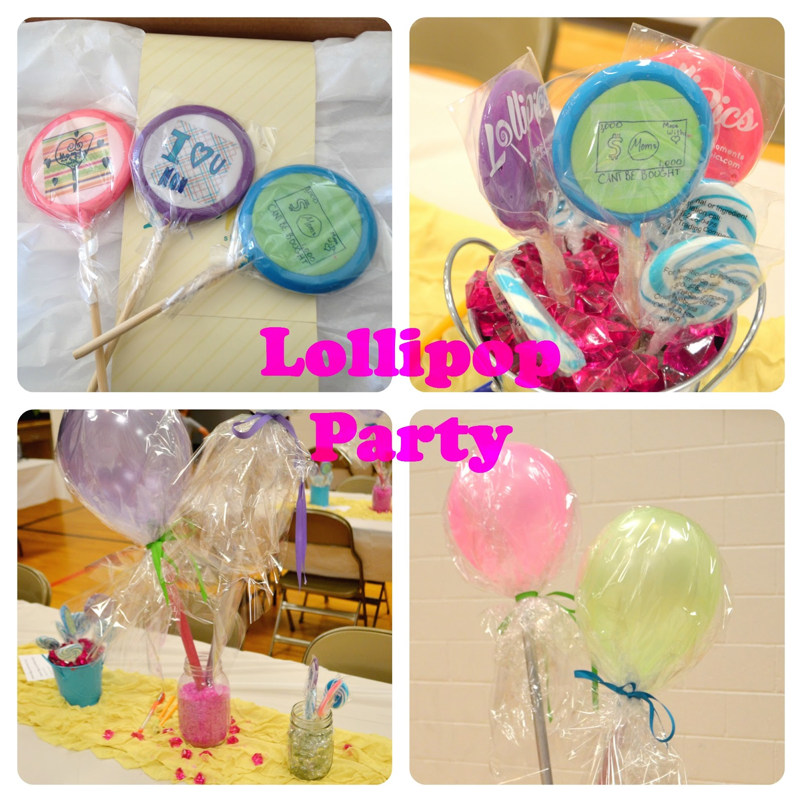 Lollipop Party with Lollipics