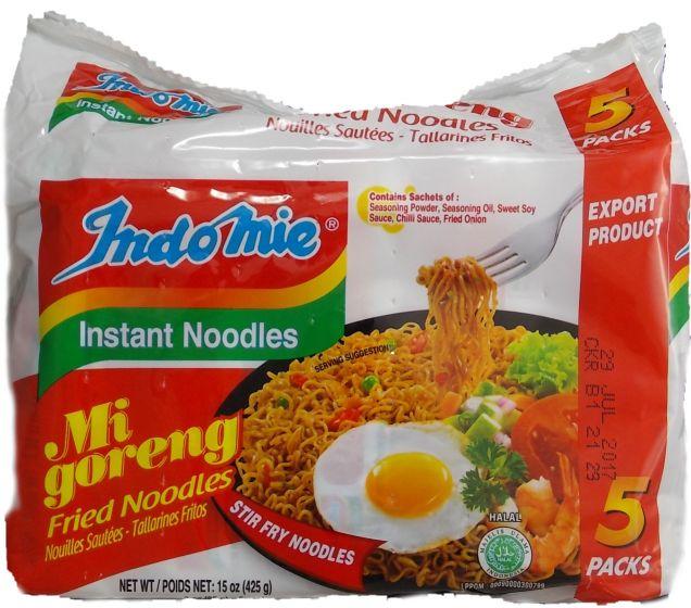 Homemade Instant Noodles Indomie