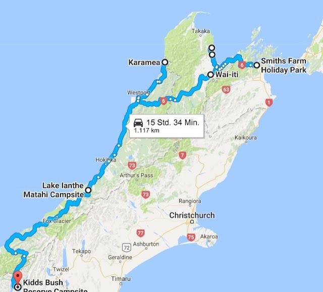Campsite Neuseeland