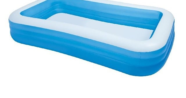 Gm Toys Store Intex Inflatable Swimming Pool 10ft 6ft With Electric Air Pump Ready Stock Pm