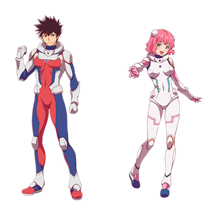 Astra: Lost in Space (Kanata no Astra) anime - personajes