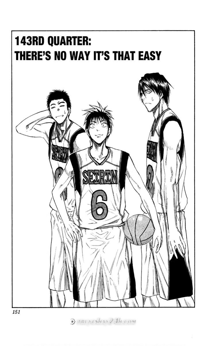 Kuroko No Basket chap 143 trang 1