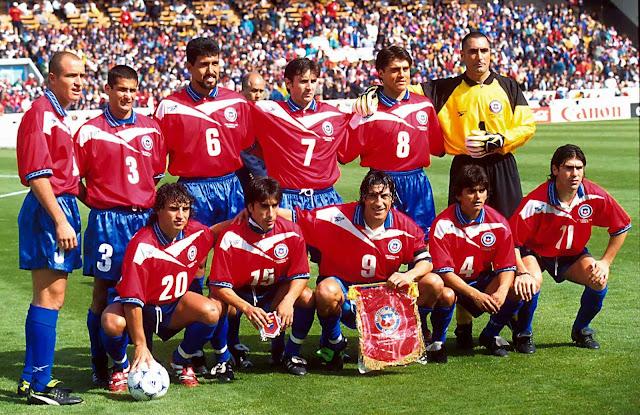 Formación de Chile ante Italia, Copa del Mundo Francia 1998, 11 de junio