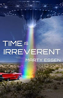 Time Is Irreverent - science-fiction comedy book promotion Marty Essen