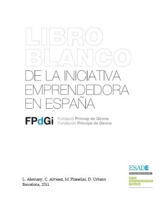 Libro sobre emprendimiento en España