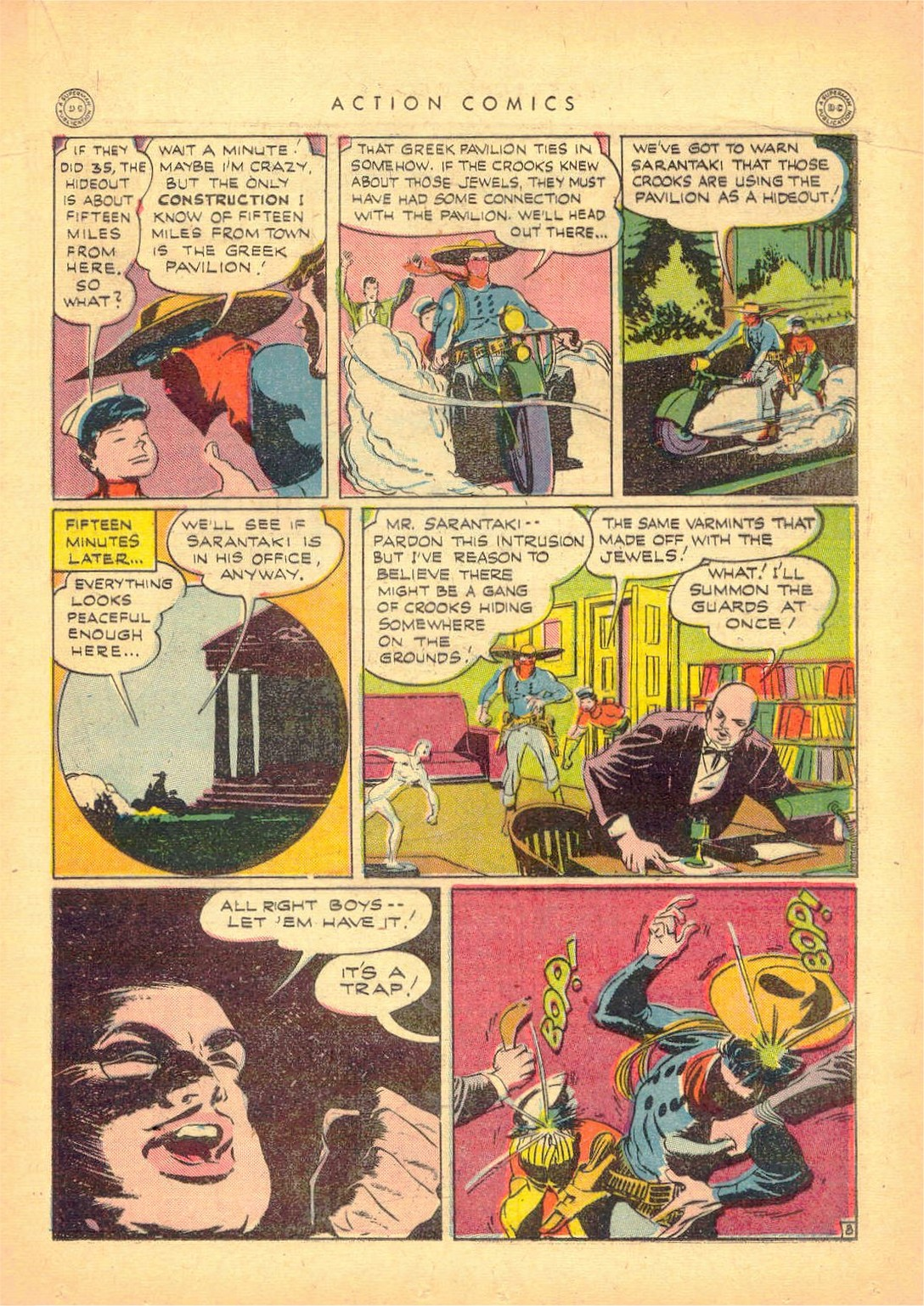 Read online Action Comics (1938) comic -  Issue #80 - 30