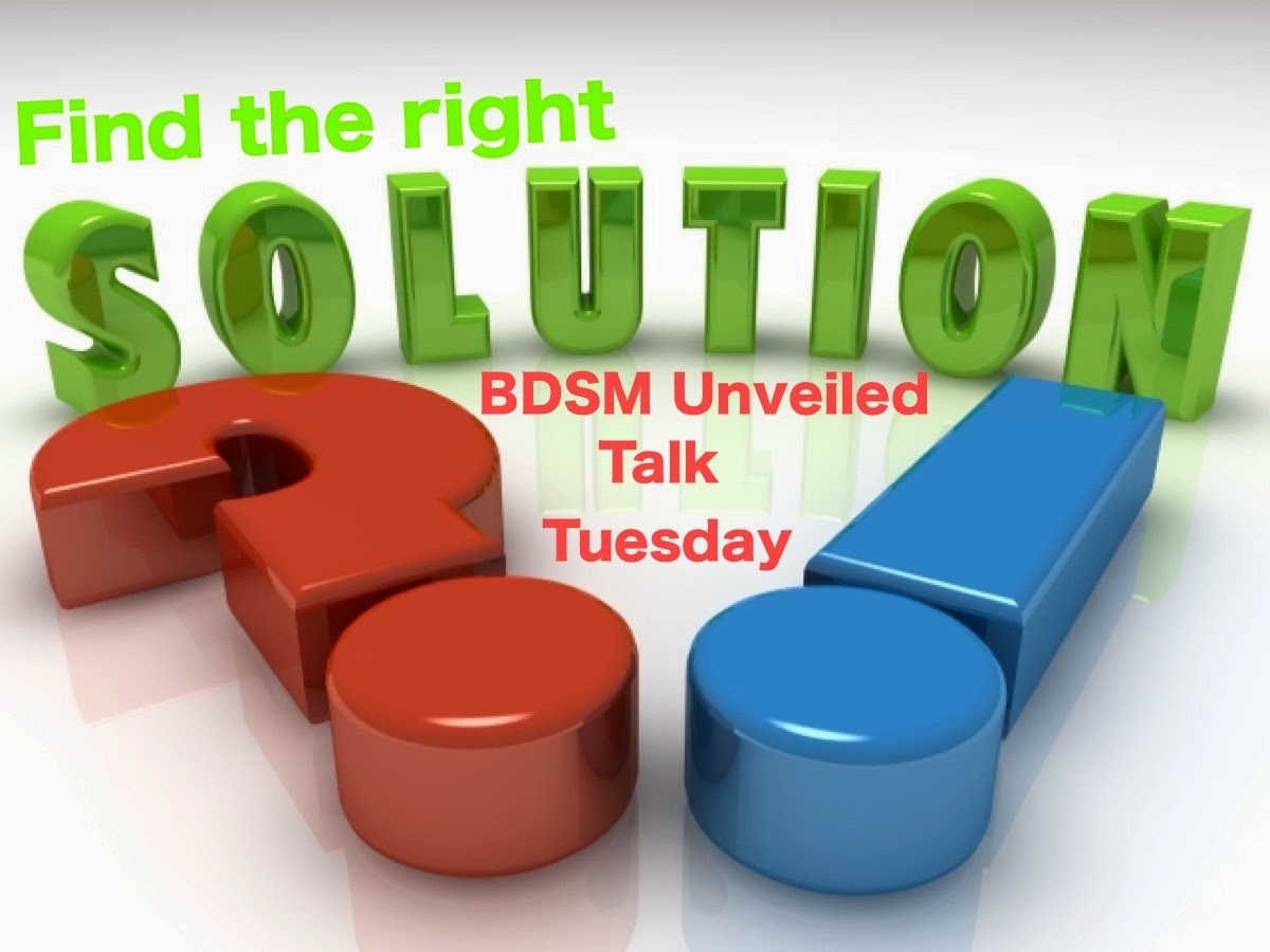 BDSM Unveiled Talk Tuesday