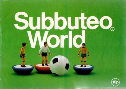 Subbuteo World Catalogue I 1979 The Football Attic