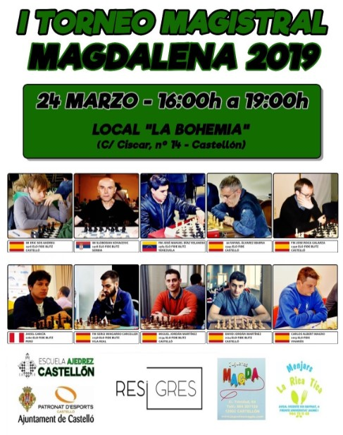 24 marzo, magistral blitz Magdalena