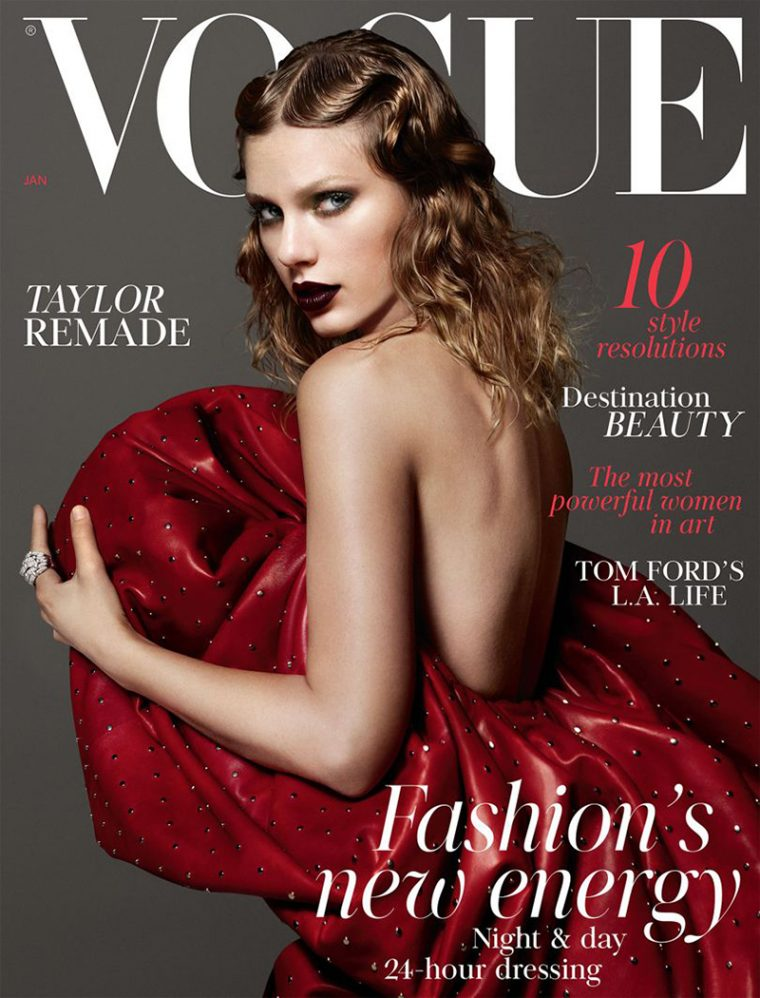 Taylor Swift On Vogue UK