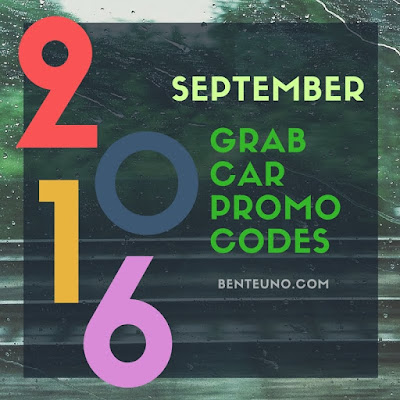 GrabCar Promo Codes for September 2016 | Benteuno.com