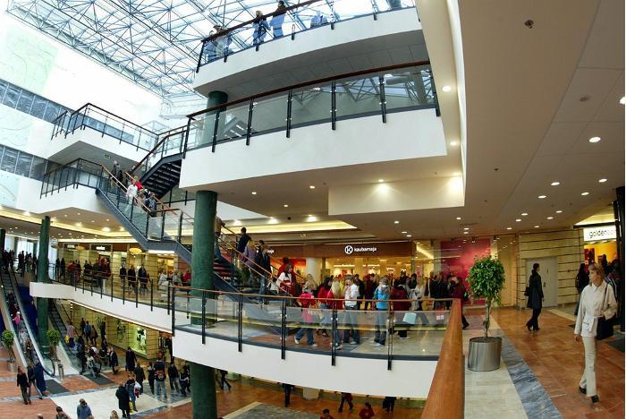 Торговые центры в таллине
