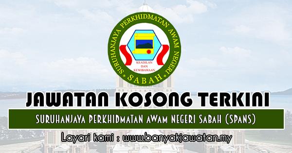 Jawatan Kosong 2018 di Suruhanjaya Perkhidmatan Awam Negeri Sabah (SPANS)