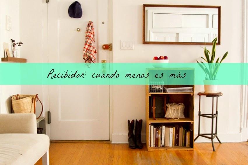 Decorar Un Recibidor Pequeno Blog De Decoracion Diy Ideas Low - Como-decorar-un-recibidor-pequeo