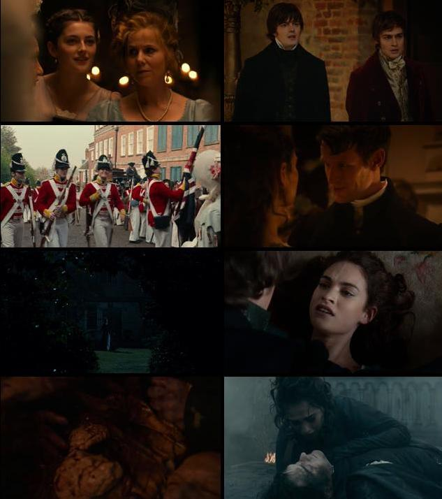 Pride and Prejudice and Zombies 2016 English 720p BRRip