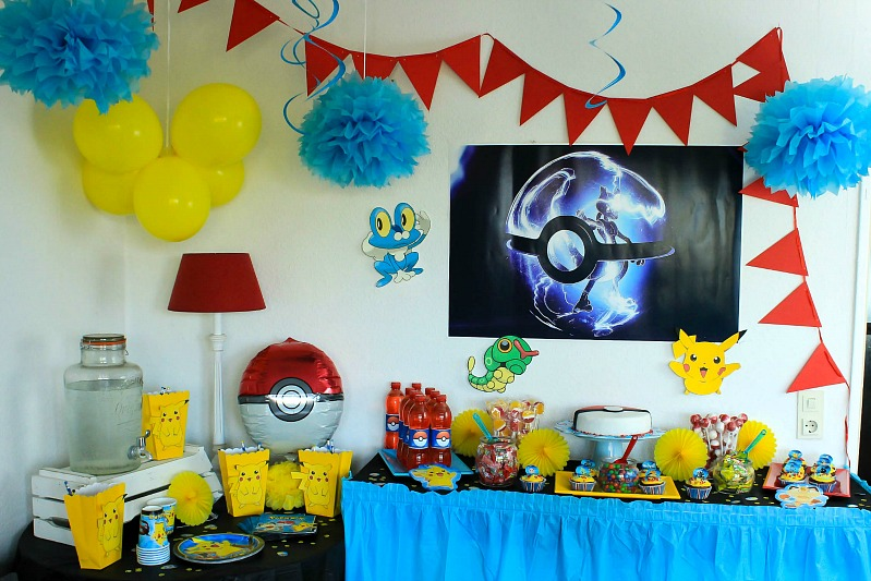 pokemon mottoparty wir feiern den 13 geburtstag vom mittleren sasibella. Black Bedroom Furniture Sets. Home Design Ideas